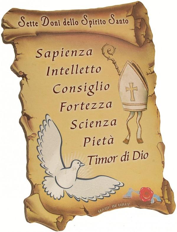 Amato I 7 Doni dello Spirito Santo   Passo Del Giorno QQ36